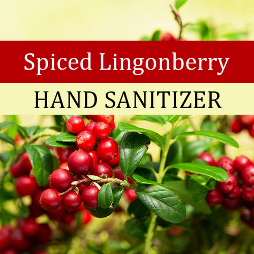 Spiced Lingonberry Hand Sanitizer