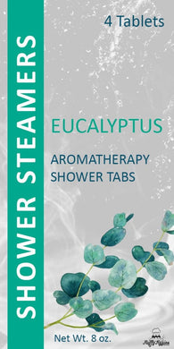 Eucalyptus Shower Steamer 4 Pack