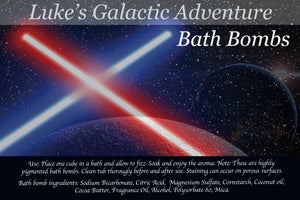 Customizable Galactic Adventure Bath Bomb Set