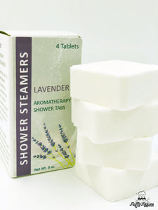 Lavender Shower Steamer 4 Pack