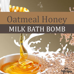 Oatmeal Honey Milk Bath Cube