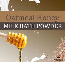 Oatmeal Honey Milk Bath Powder
