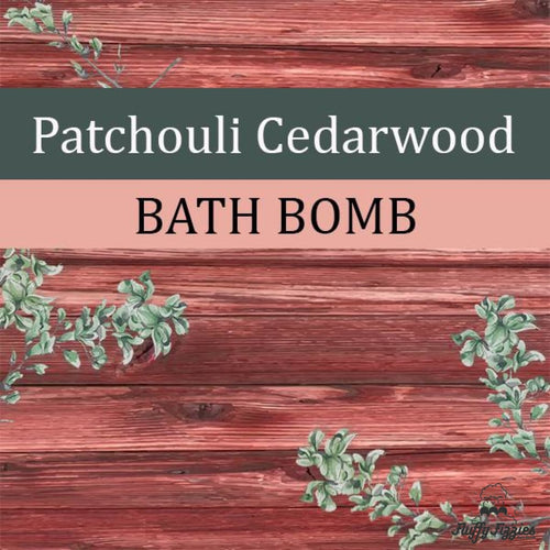 Patchouli Cedarwood Bath Cube