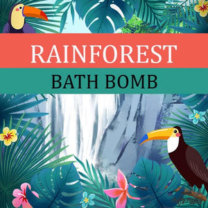 Rainforest Bath Cube