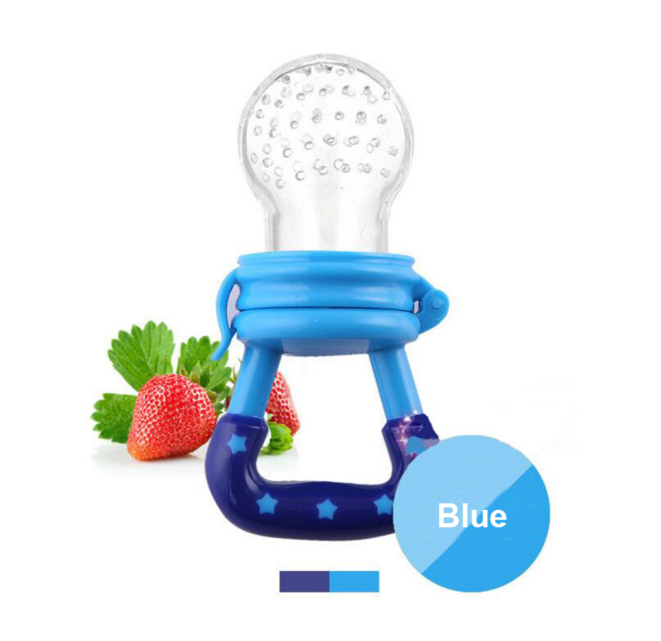 Infant Fruit Silicone Pacifier Feeder