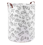 Canvas Bins - Large Size Toy Organizers /Laundry Baskets/ Hampers