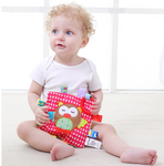 Teether Soothing Pad for Baby Sensory Development w/ Ring - Age 3 months to 3 years