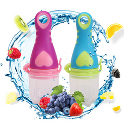 Heart Design Fresh Food-Fruit Silicone Feeder