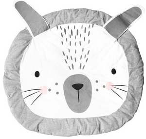 Grey Rabbit Design Children's Cartoon Play-Mat