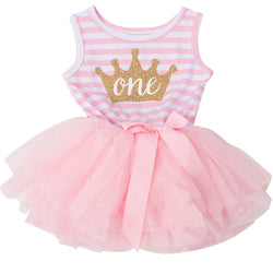 My First Princess Birthday Tutu Outfit