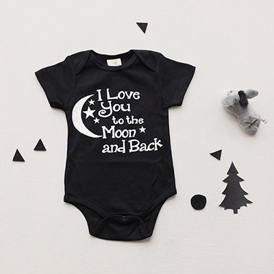 I Love You To The Moon And Back Black