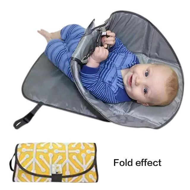 Multifunction Outdoor Portable Diaper Clutch Changing Station