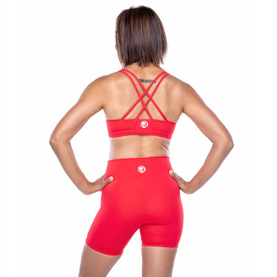 Double Cross Strap Sports Bra