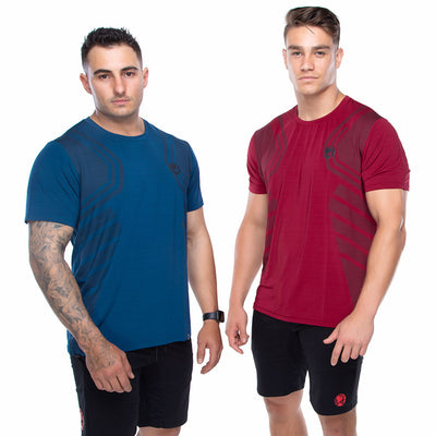 Mens Stretch Training Tee