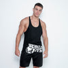 Stringer Singlet World Gym logo