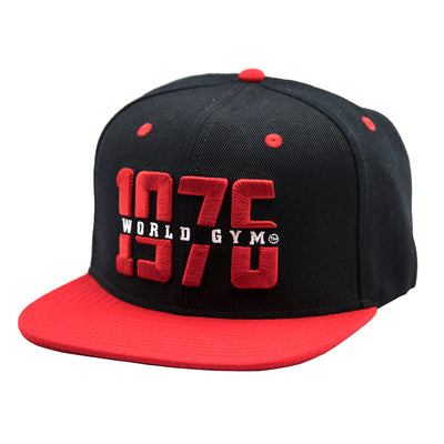 Cap Flat Brim - 1976 World Gym