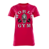 Ladies Slim Cut Gorilla T-Shirt Pink