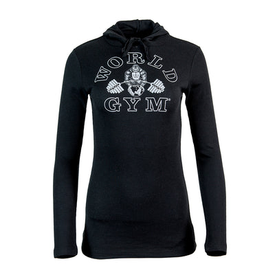 Thermal Hoodie Long Sleeve womens