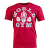 Traditional Vintage Mens World Gym T-shirt