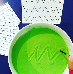 Learning to Write on Coloured Sand: Developing Pre-Writing Skills