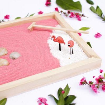 Zen Gardens with Coloured Sand