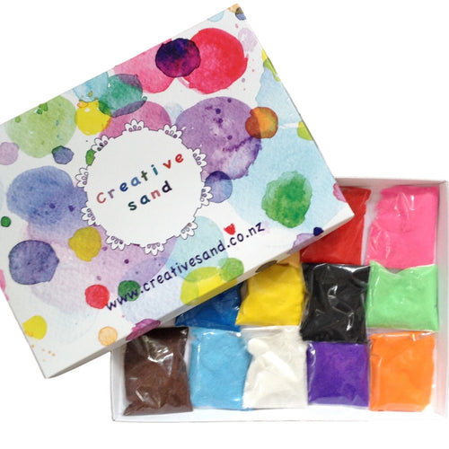 Coloured Sand Pack (10 Colours, 370 grams each)