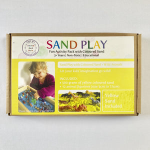 Sand Art Play Kit (with Wild Animals)