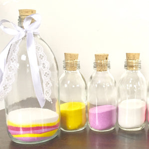 Bottle Sets Including Sand (From 2 to 8 People)