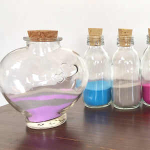 Heart Jar Sets Including Sand (From 2 to 8 People)