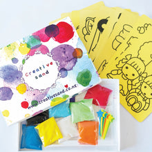 Sand Art Party Pack for 10 (with Template Cards)