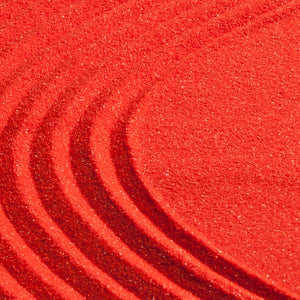 Red coloured sand (1 cup)
