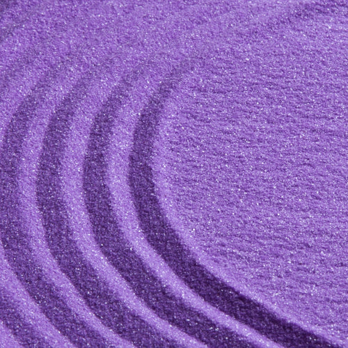 Purple coloured sand (1 cup)