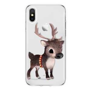 Christmas Reindeer iPhone Case