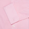 Contemporary Fit, Classic Collar, Double Cuff Shirt in a Pink & White Gingham Check Zephyr Cotton