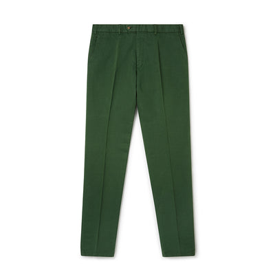 Dark Green Linen Trousers