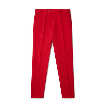 Red Linen Trousers