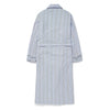 Navy Striped Poplin Cotton Gown