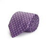 Mallow Small Flowers Woven Silk Tie