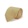 Yellow Dots Woven Silk Tie