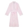Ladies Plain Pink Cotton Gown