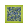Green Paisley 100% Cotton Handkerchief