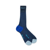 Navy Cotton Socks with Contrast Heel & Toe