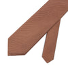 Plain Mink Woven Silk & Cotton Tie