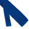 Plain Royal Blue Knitted Silk Tie