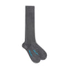 Long Grey Cashmere Socks