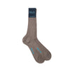 Short Plain Grey Cotton Socks