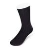 Short Black Heavy Sports Wool Socks