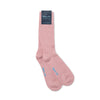 Short Pink Heavy Sports Wool Socks