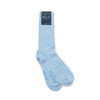 Short Pale Blue Heavy Sports Wool Socks