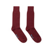 Short Deep Red Heavy Sports Wool Socks